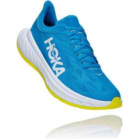 Hoka One One Carbon X 2 Shoes Men, diva blue/citrus